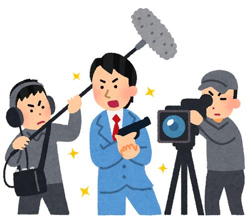 俳優のドラマ撮影