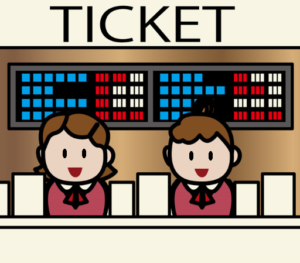 売り場チケット